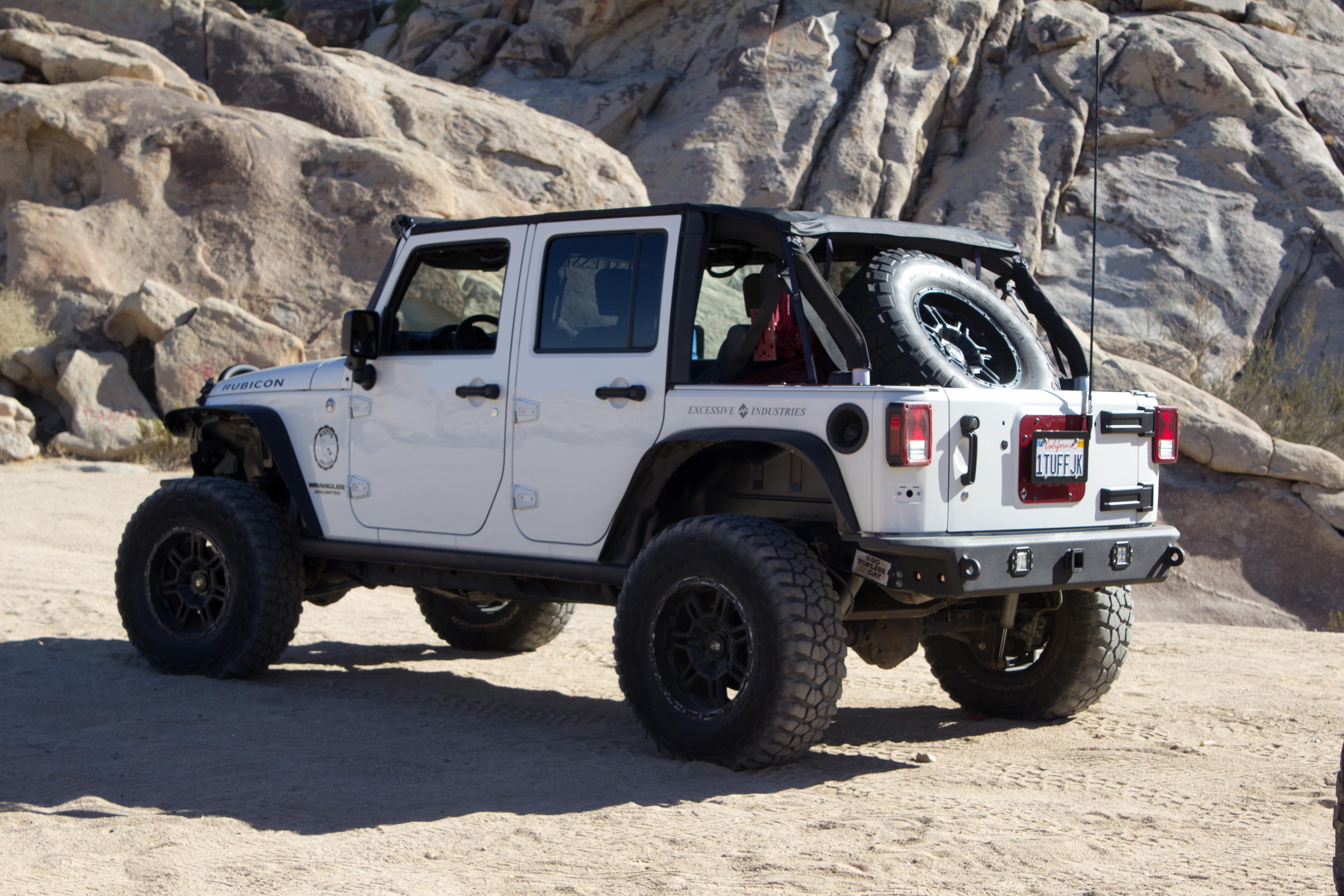 Jeep Jku Roof Rack >> Excessive Industries Jeep JK and JKU Rear Bumper