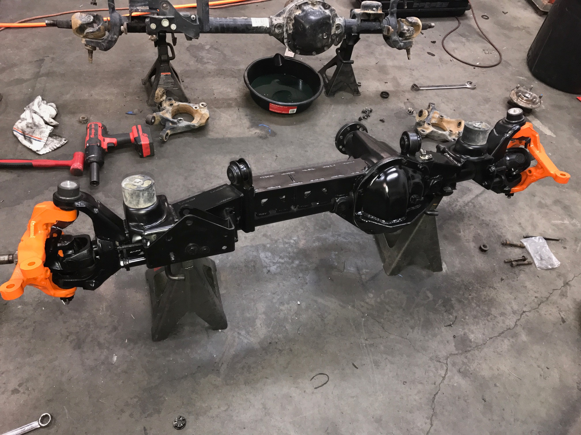 C To C Axle Truss For Dana 44